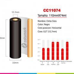 Etiquetas de Transferencia Térmica 100mm X 79mm